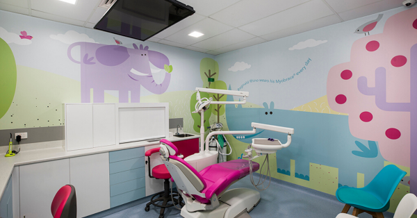 Treatment Room with TV